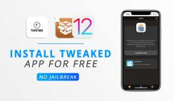 Install Tweaked Apps on iOS 12.1 For Free (TopStore App)