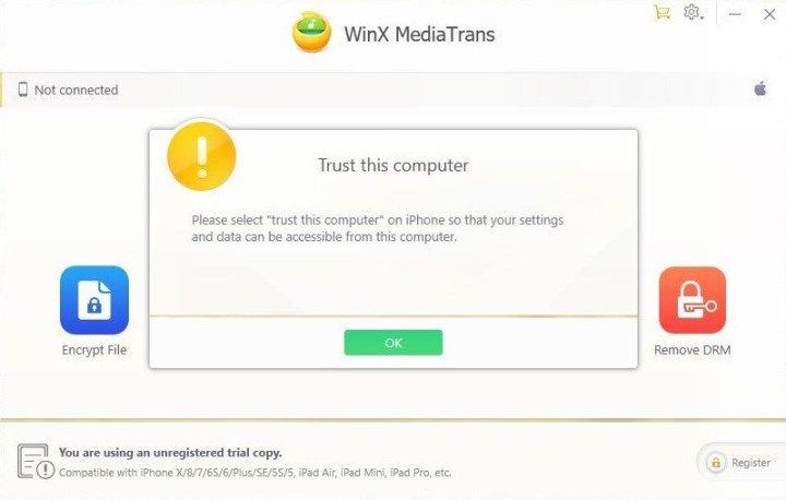 WinX MediaTrains