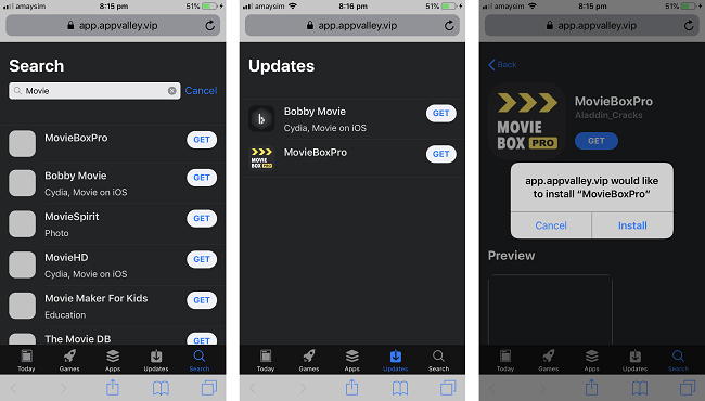 "How to Install Movie Box Pro Free on iOS Devices ""Vip Version"""