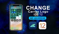 "Change Carrier Logo on iOS 12 ""No Jailbreak"""
