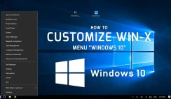 How to Customize Win-X Menu on Windows 10