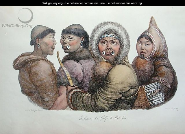 Natives of the Gulf of Kotzebue, Alaska, from