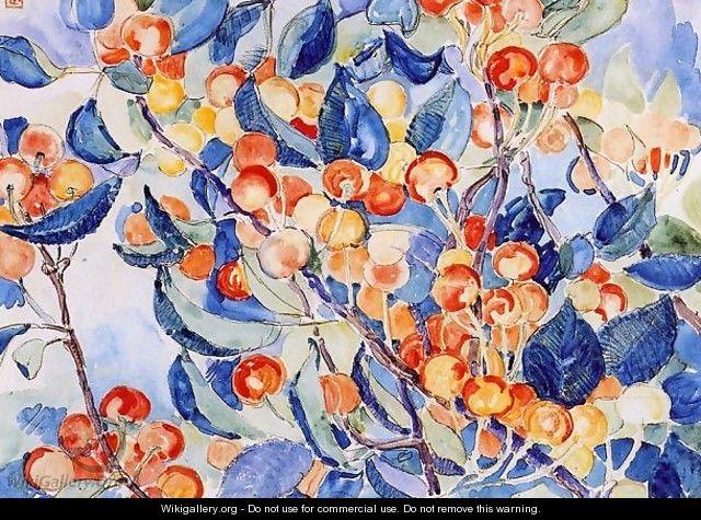 Cherries - Theo Van Rysselberghe