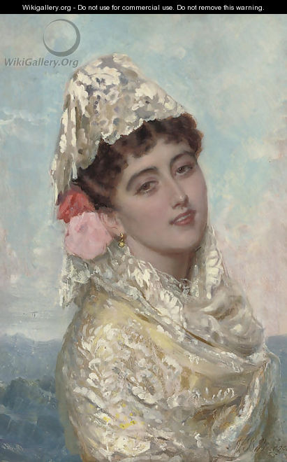 A Spanish beauty 2 - John Bagnold Burgess