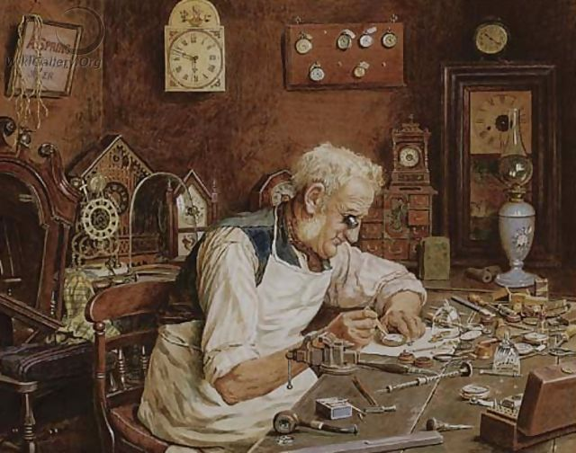 The watchmaker - Charles Spencelayh