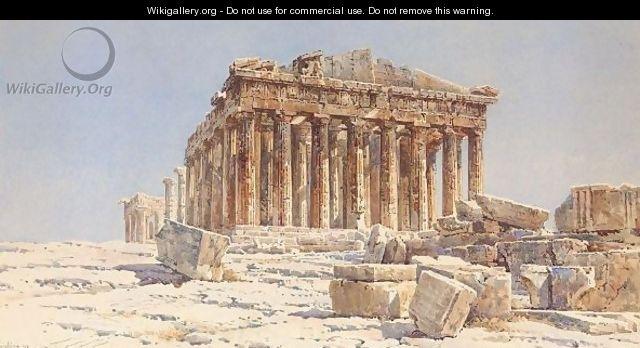 View Of The Parthenon - Angelos Giallina