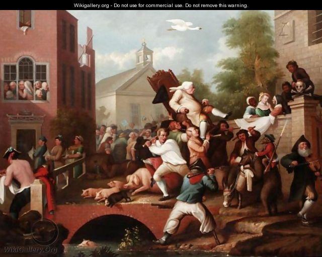 Image result for Hogarth election
