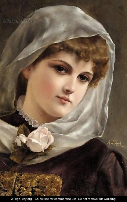 Portrait Of A Girl - Alfred Seifert