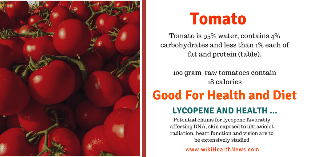 TOMATOES : FACTS AND HEALTH BENEFITS