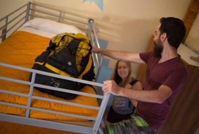WIKI HOSTEL dorms backpackers top bunk bed