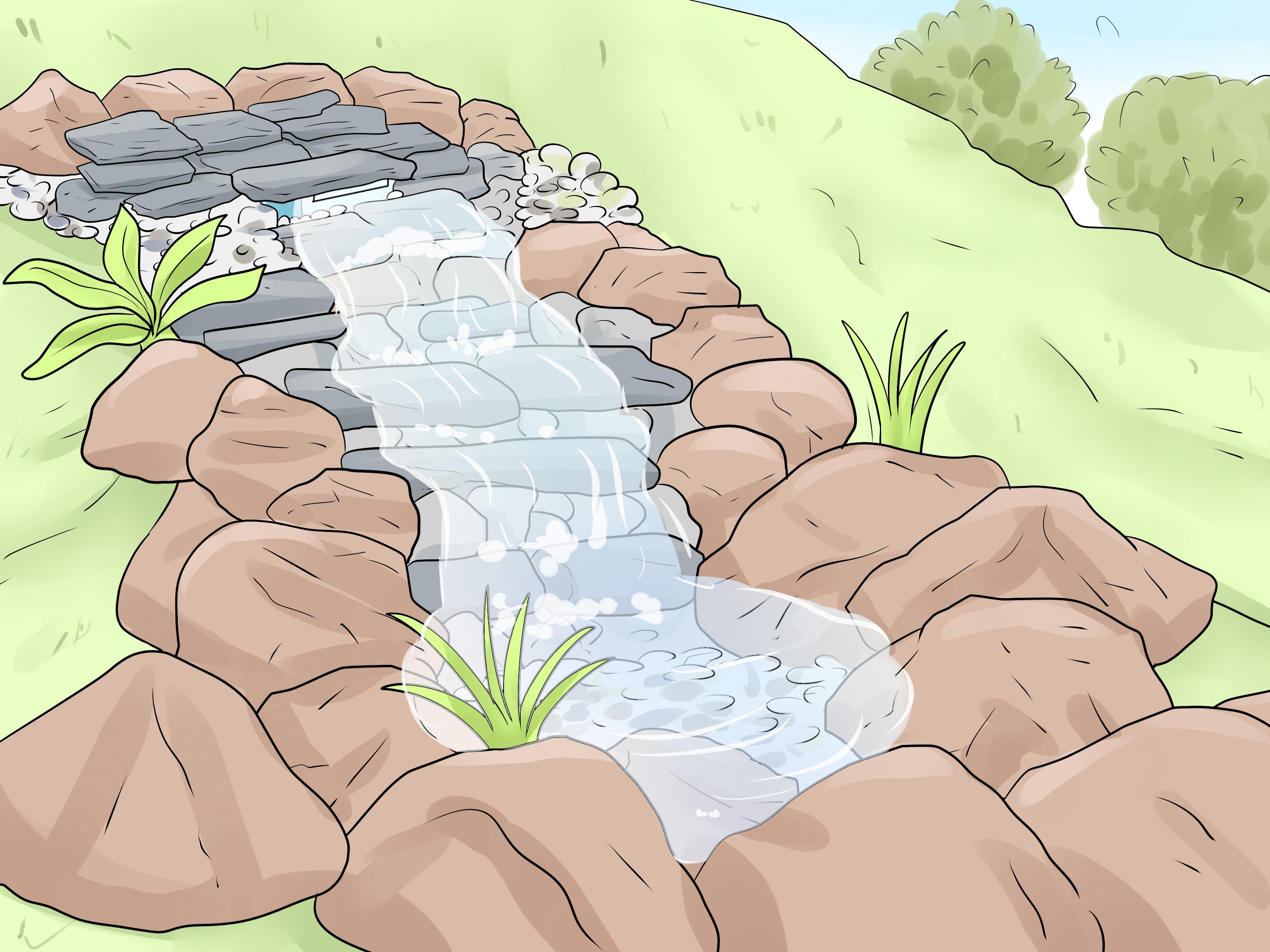 comment construire une cascade avec