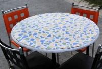 Eine Mosaik Tischplatte machen  wikiHow
