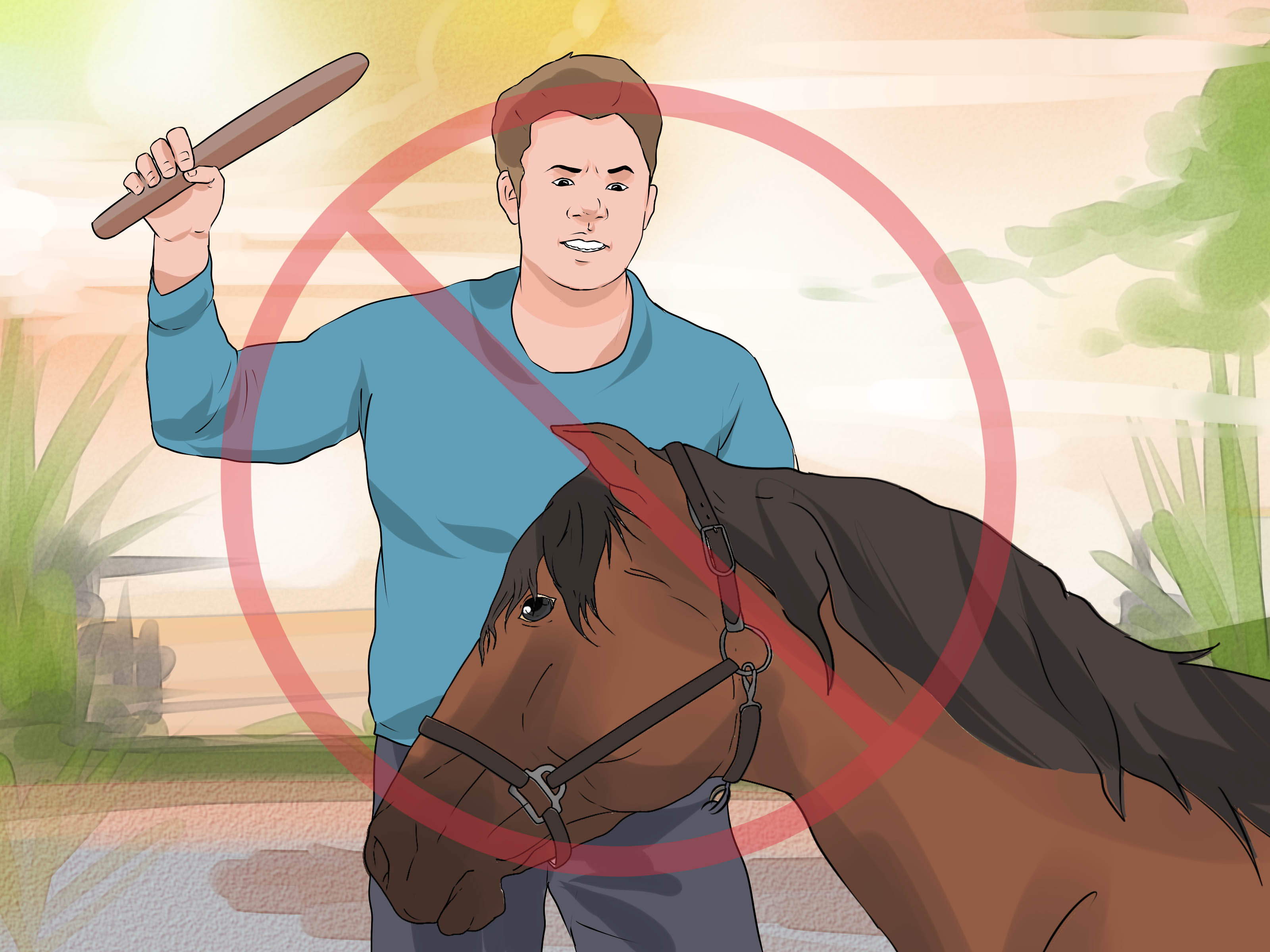 How To Halter A Horse With Pictures