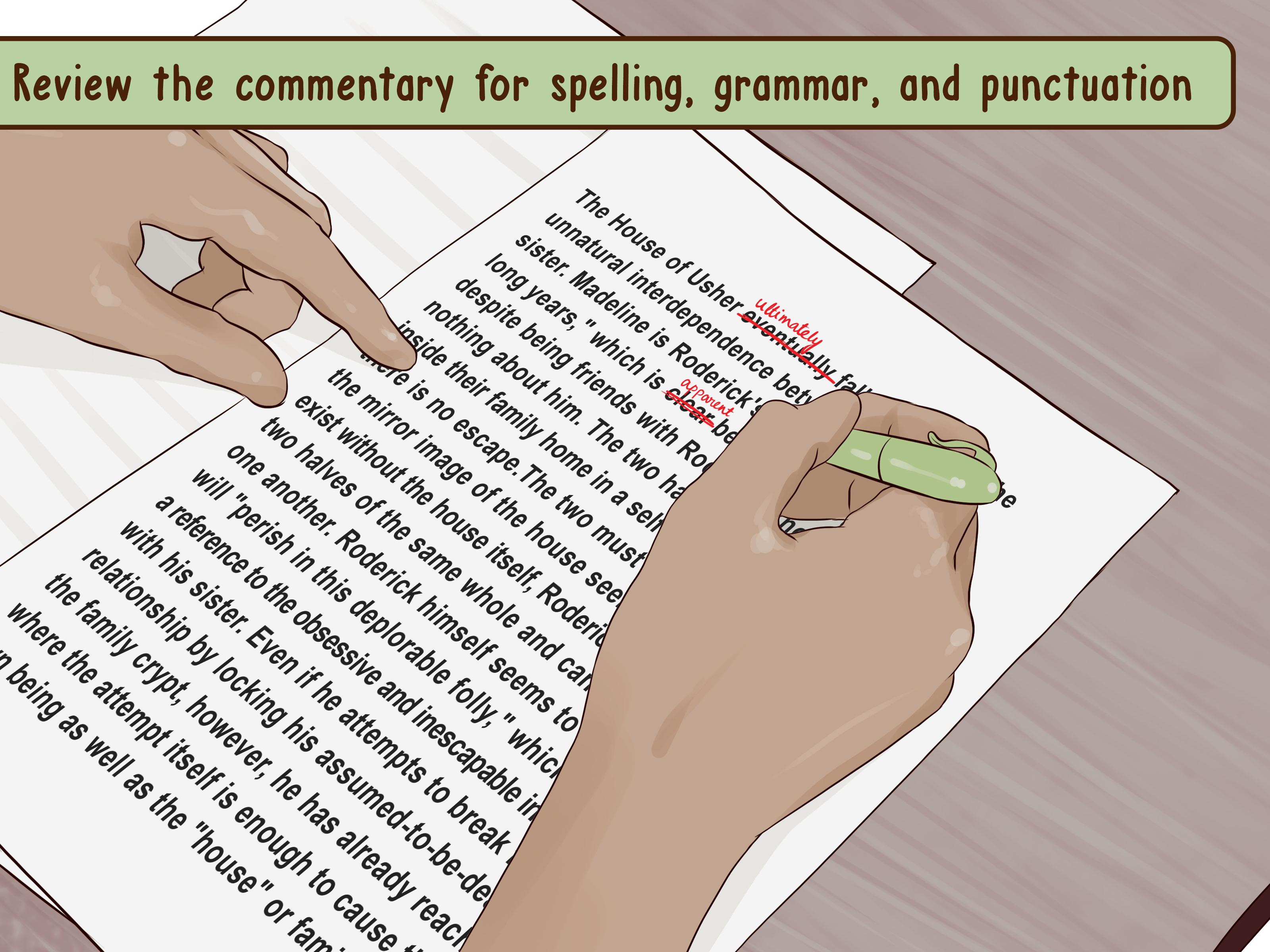 how to write a literary essay