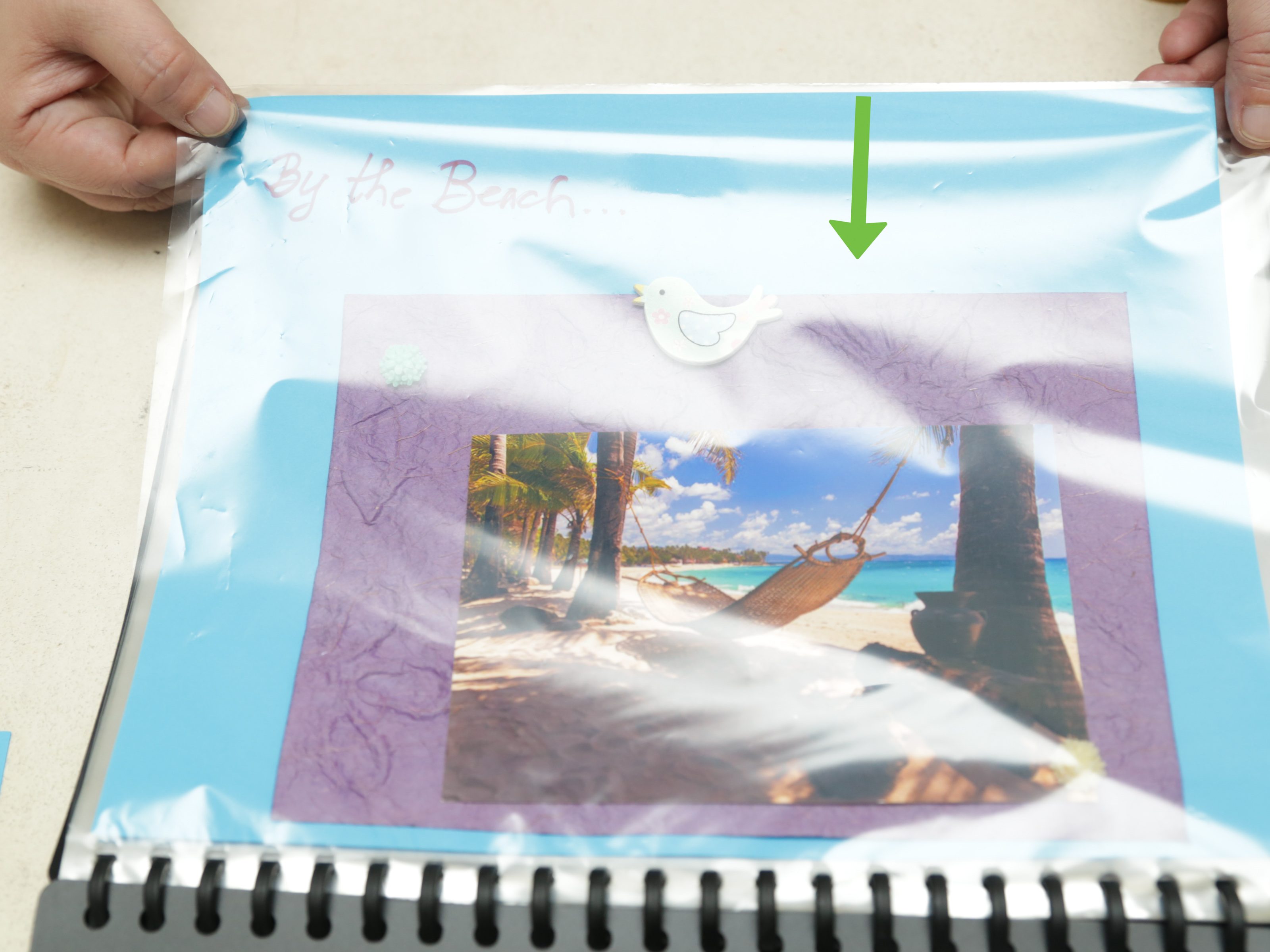 How to Make a Scrapbook Page 15 Steps with Pictures  wikiHow