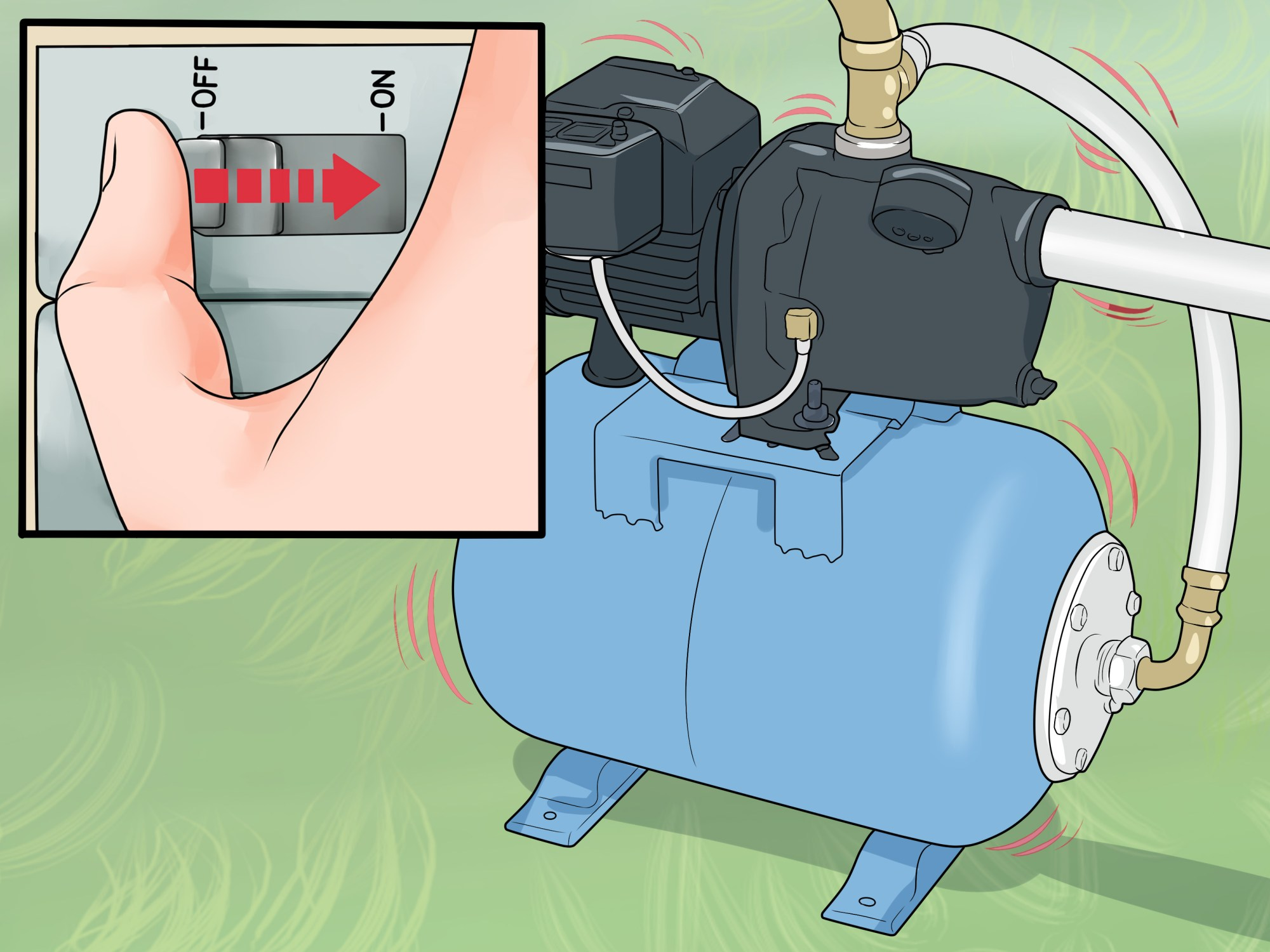hight resolution of how to replace a well pump with pictures wikihow wiring march pump switch