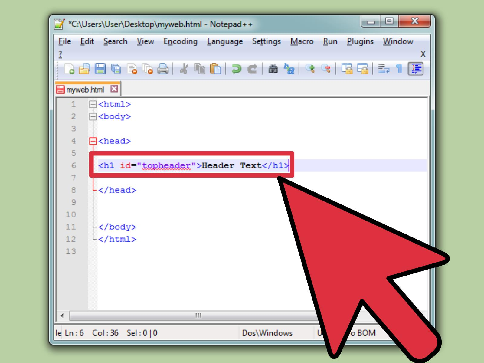 How To Create A Link With Simple HTML Programming 9 Steps