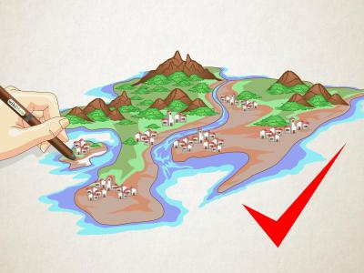 How to Draw a Map of an Imaginary Place: 12 Steps (with ...