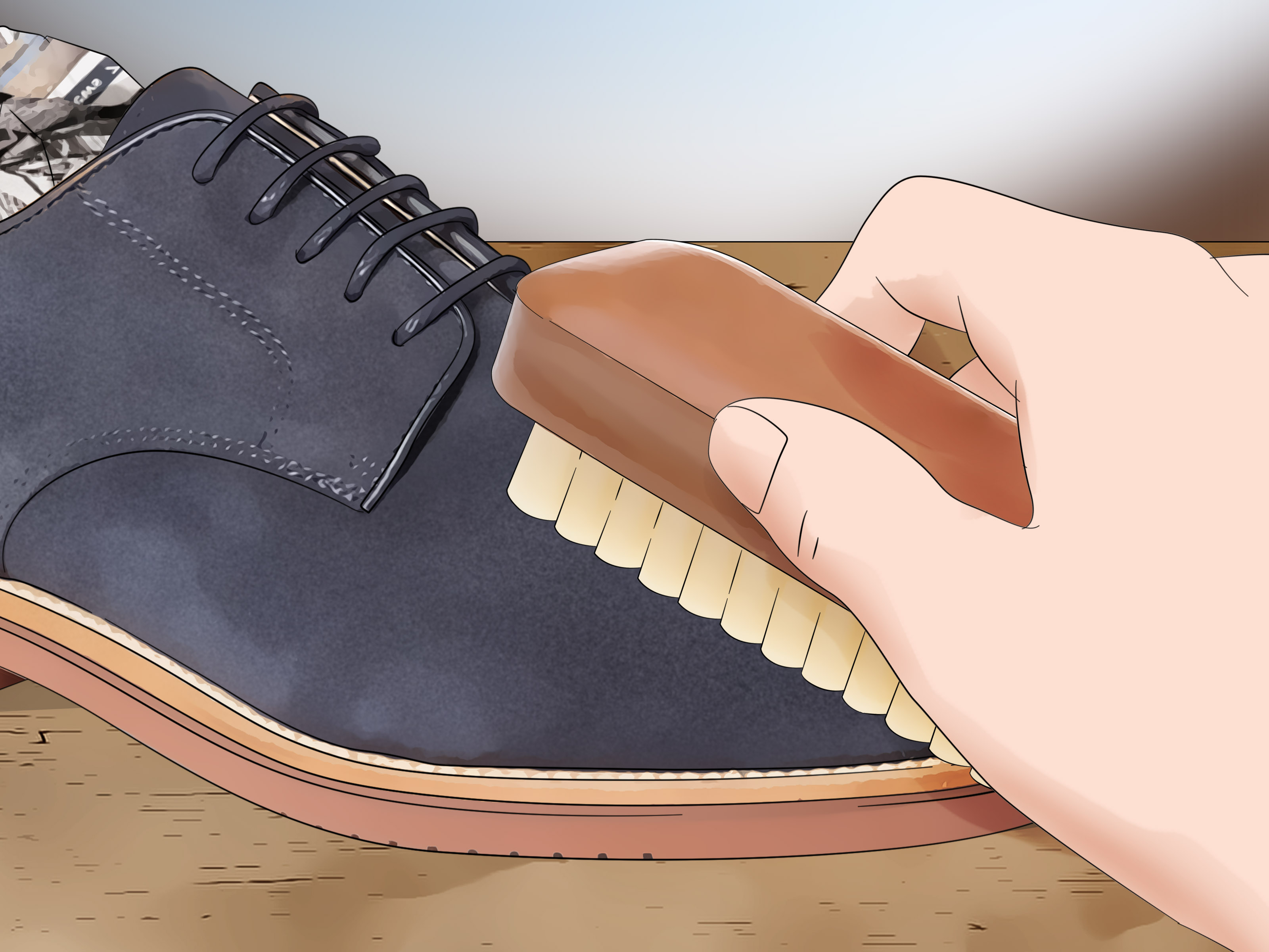4 Ways to Remove Dye from Suede Shoes  wikiHow