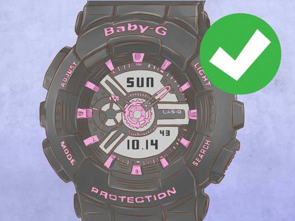 Set Time Baby Watch 13 Steps With