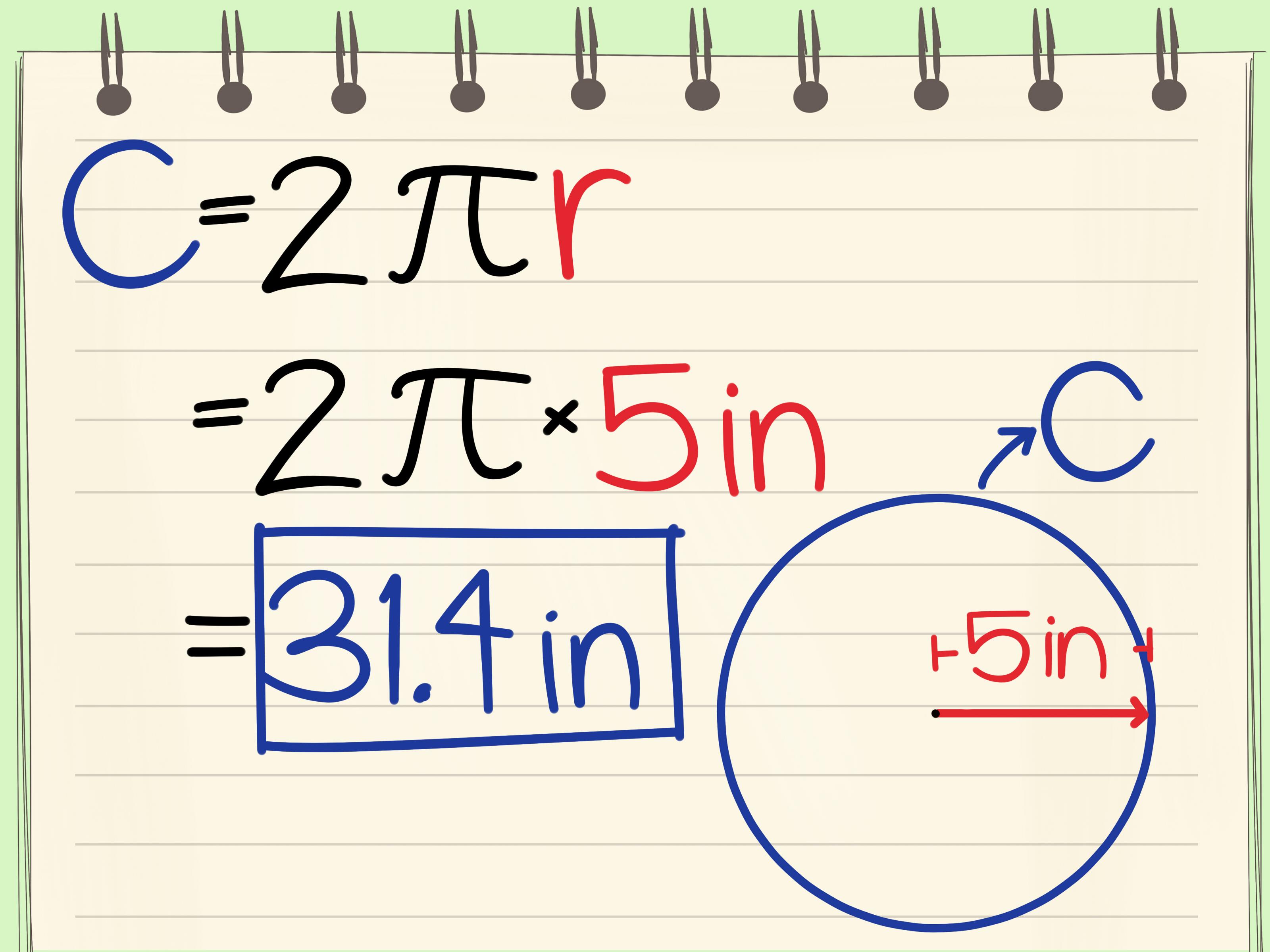 Come Calcolare La Circonferenza Di Un Cerchio