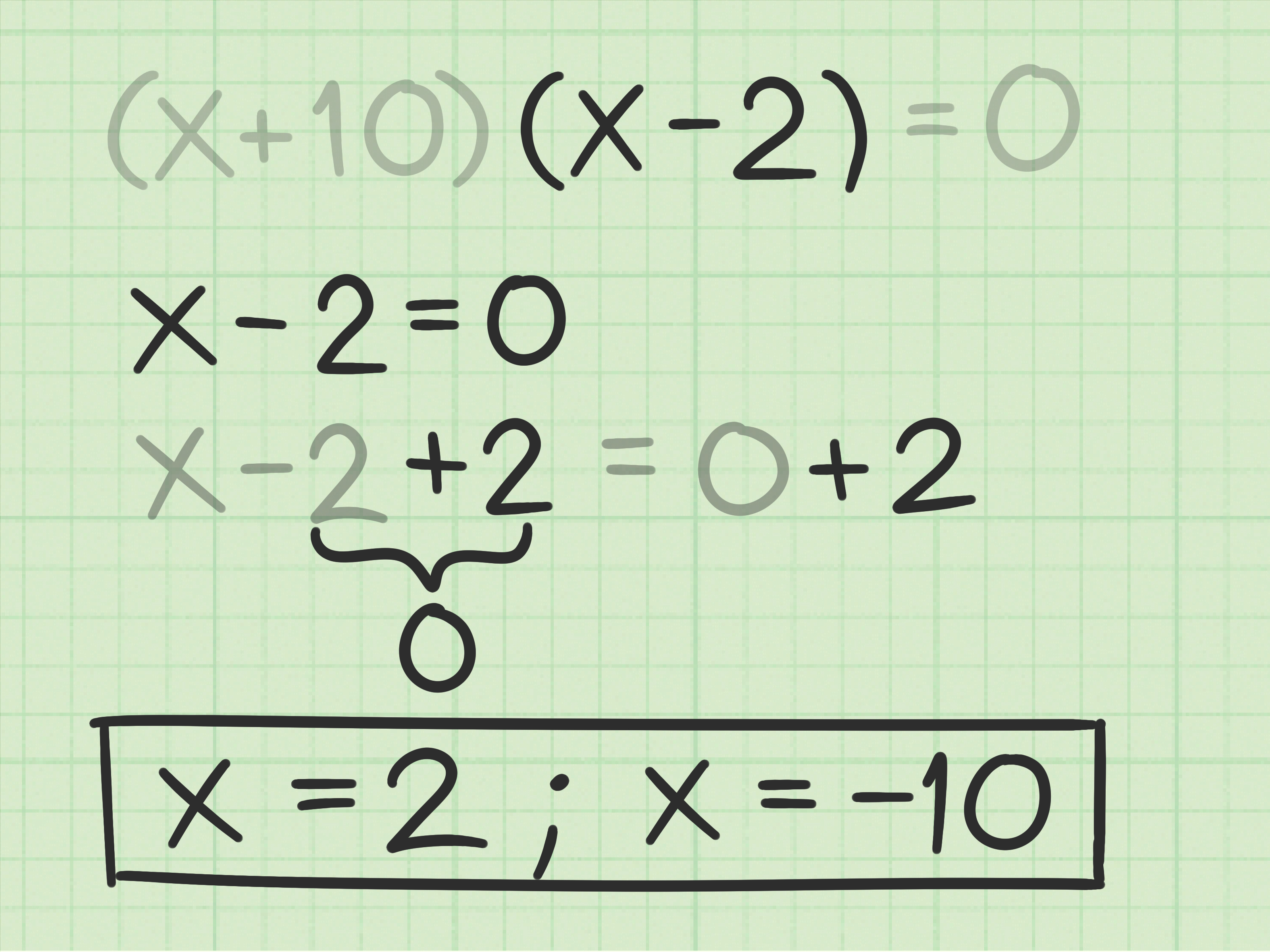 How To Solve A Trinomial Equation