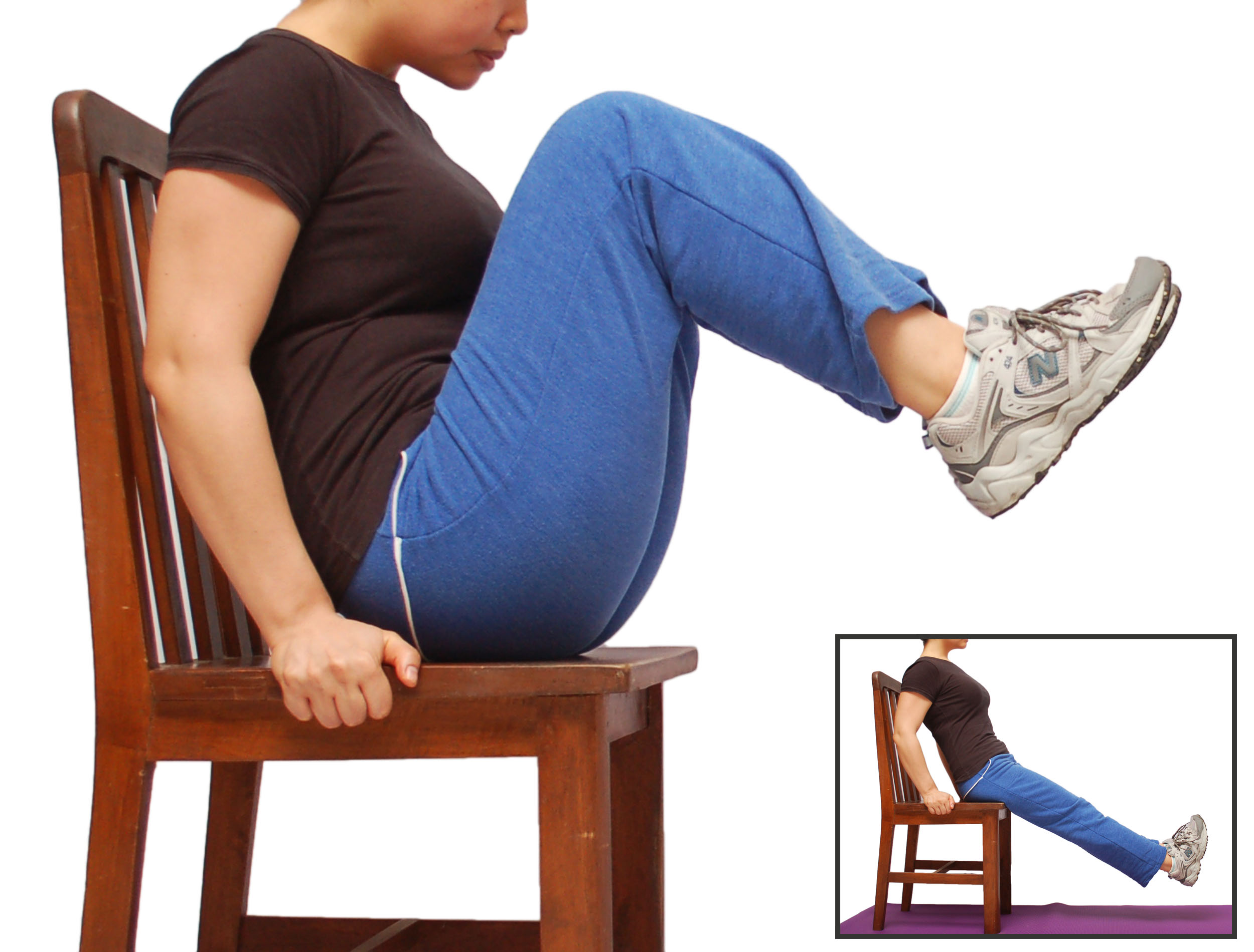 How to Do a Knee Tuck 7 Steps with Pictures  wikiHow