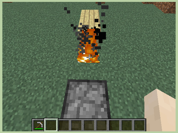 How To Make Fire In Minecraft With Pictures WikiHow