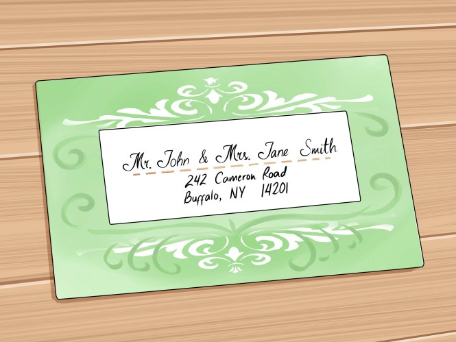 How To Properly Address Your Wedding Invitations By Dm Paper Designs Weddinglovely Blog