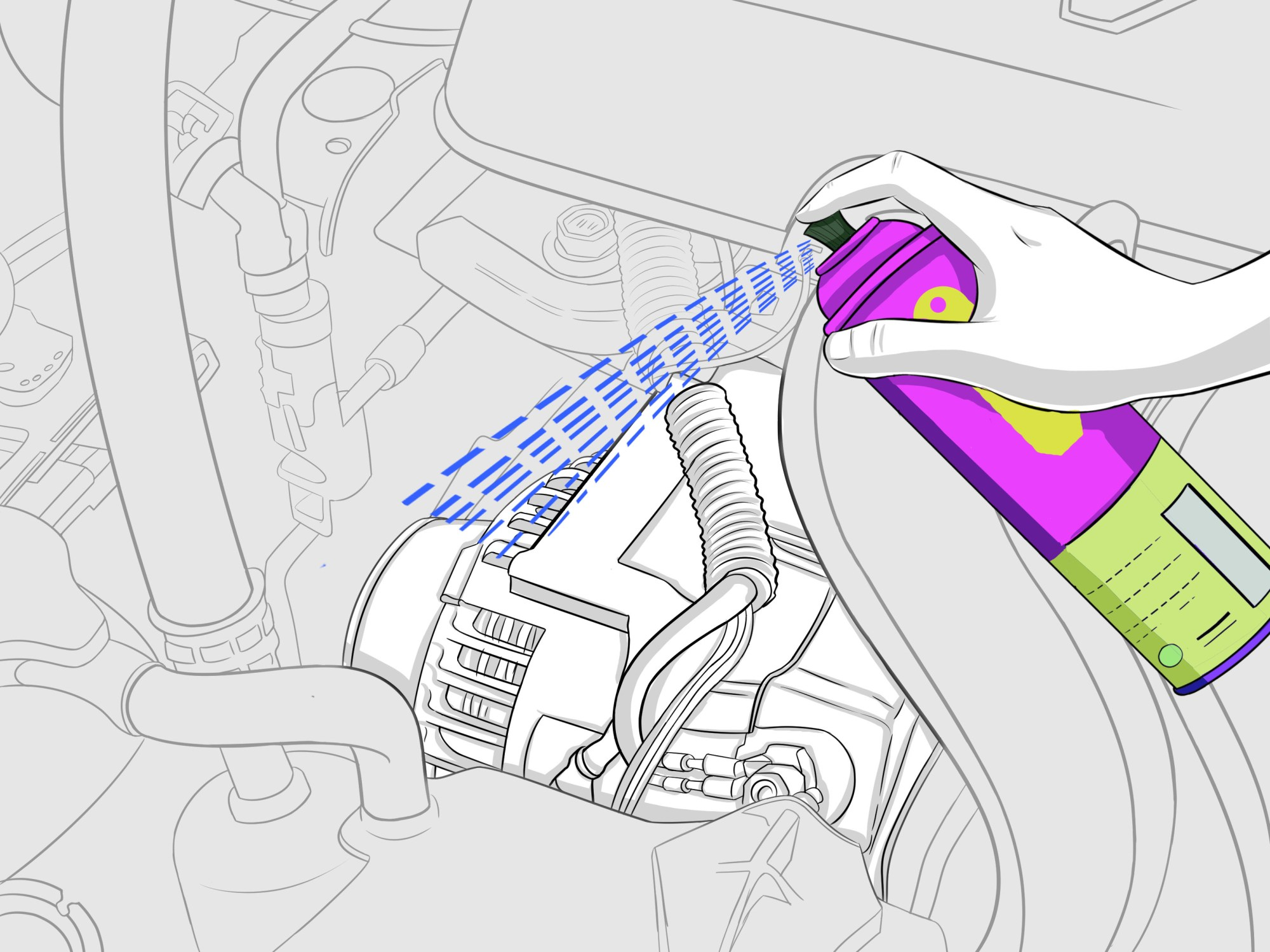 hight resolution of how to clean a car engine