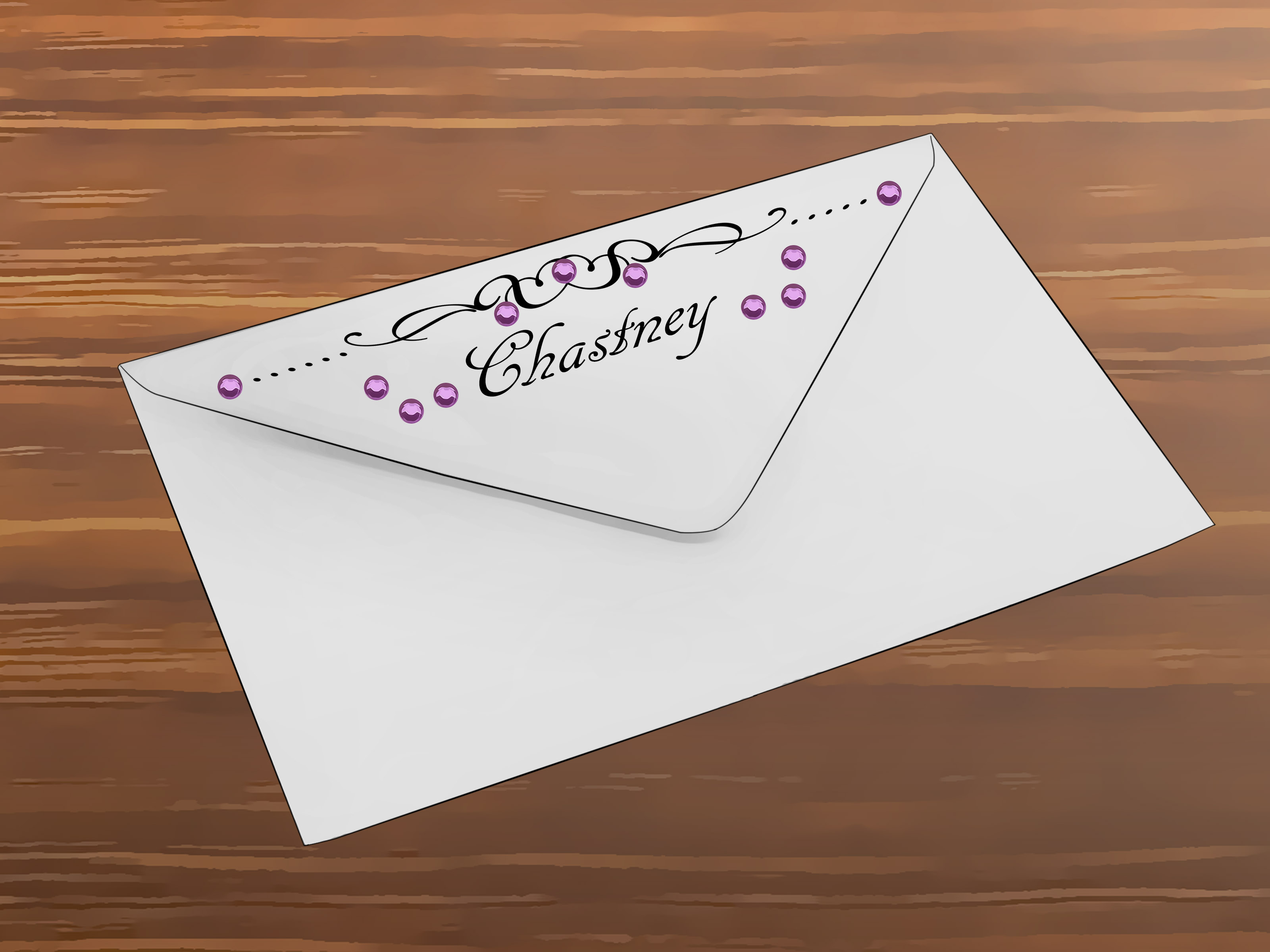 How to Decorate an Envelope 10 Steps with Pictures
