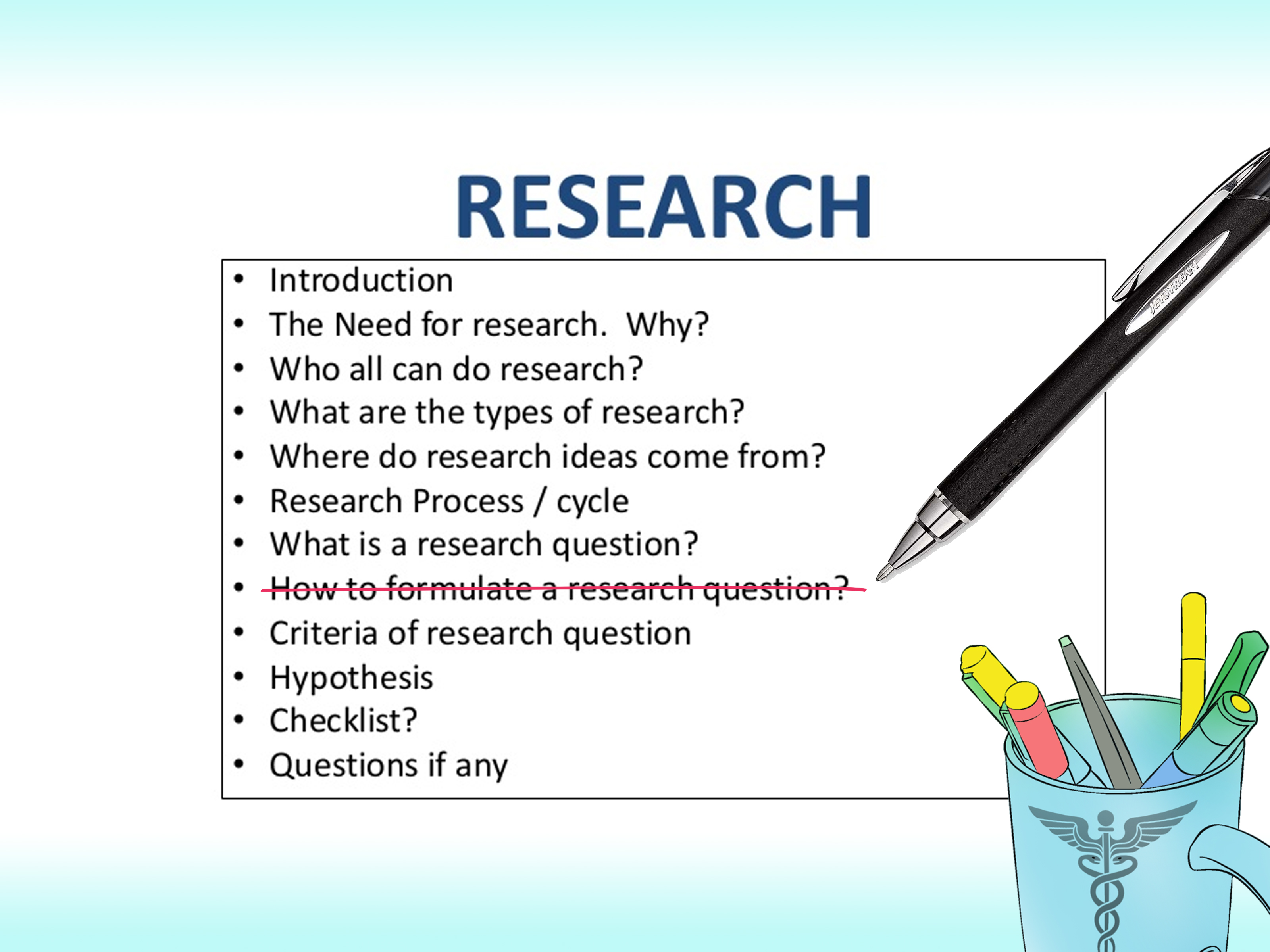 How To Write A Medical Research Paper 12 Steps With
