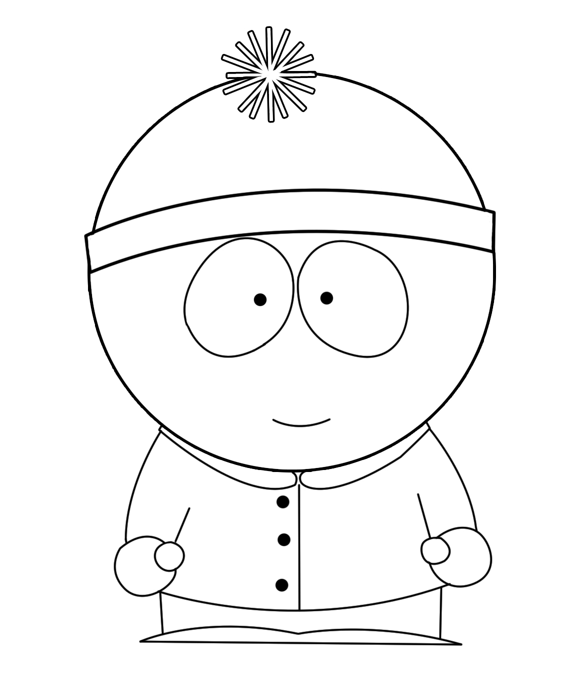 How to Draw Stan from South Park: 9 Steps (with Pictures)