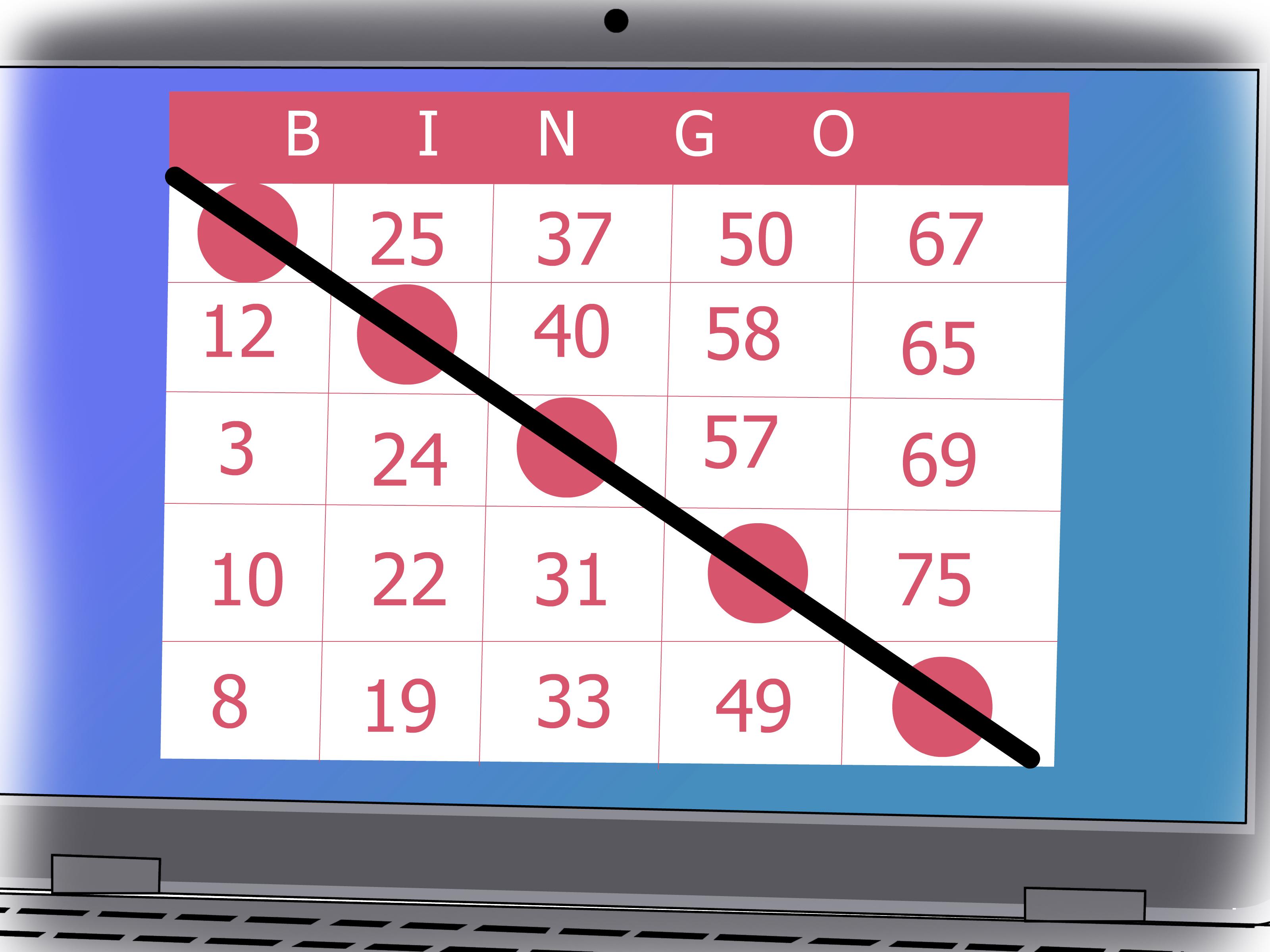 3 Cara untuk Bermain Bingo  wikiHow