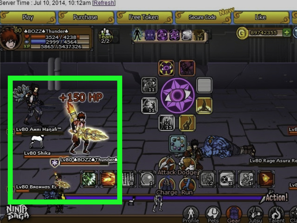 How to Level Up Faster in Ninja Saga 7 Steps with Pictures