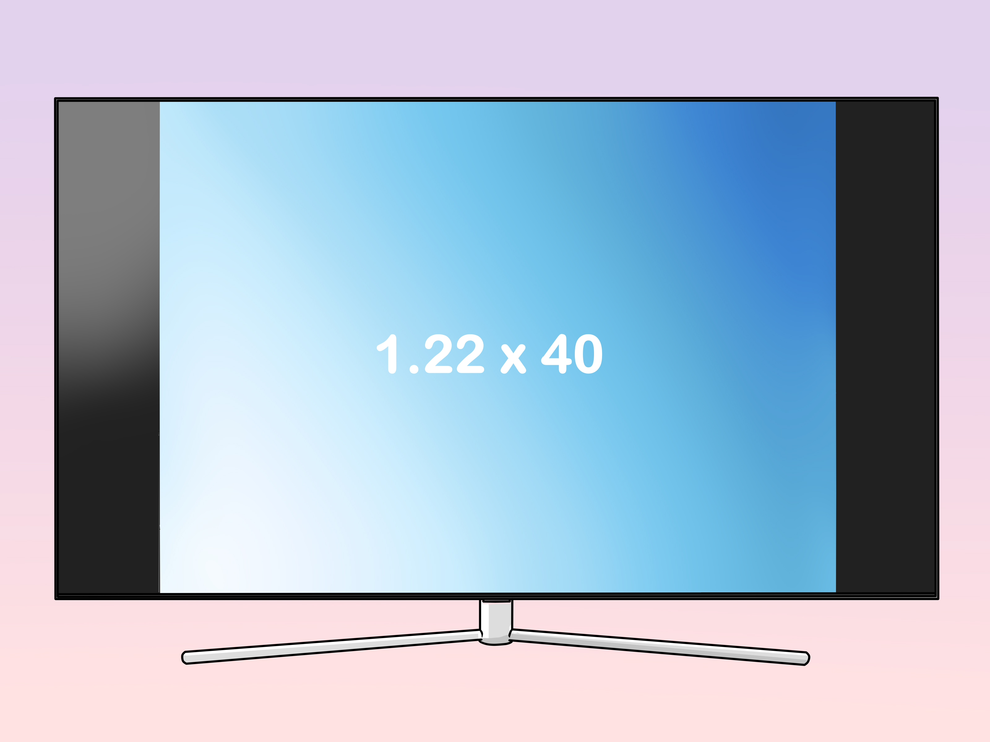how to measure a tv 9 steps with