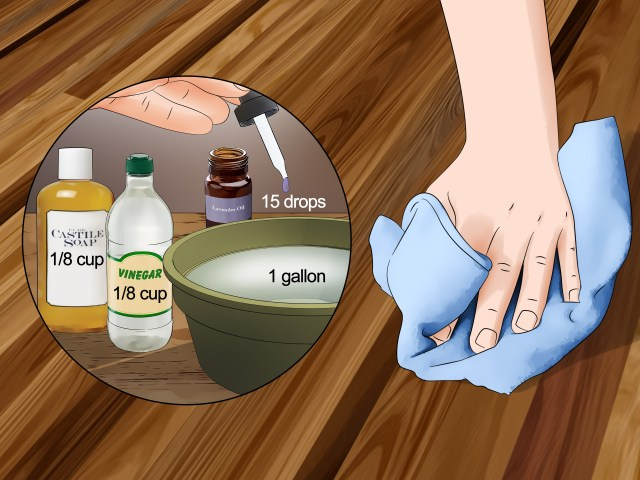 14 Ways to Clean Hardwood Floors with Vinegar - wikiHow