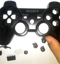 how to disassemble a dual shock 3 controller 8 steps rh wikihow com playstation 3 controller [ 3212 x 2211 Pixel ]