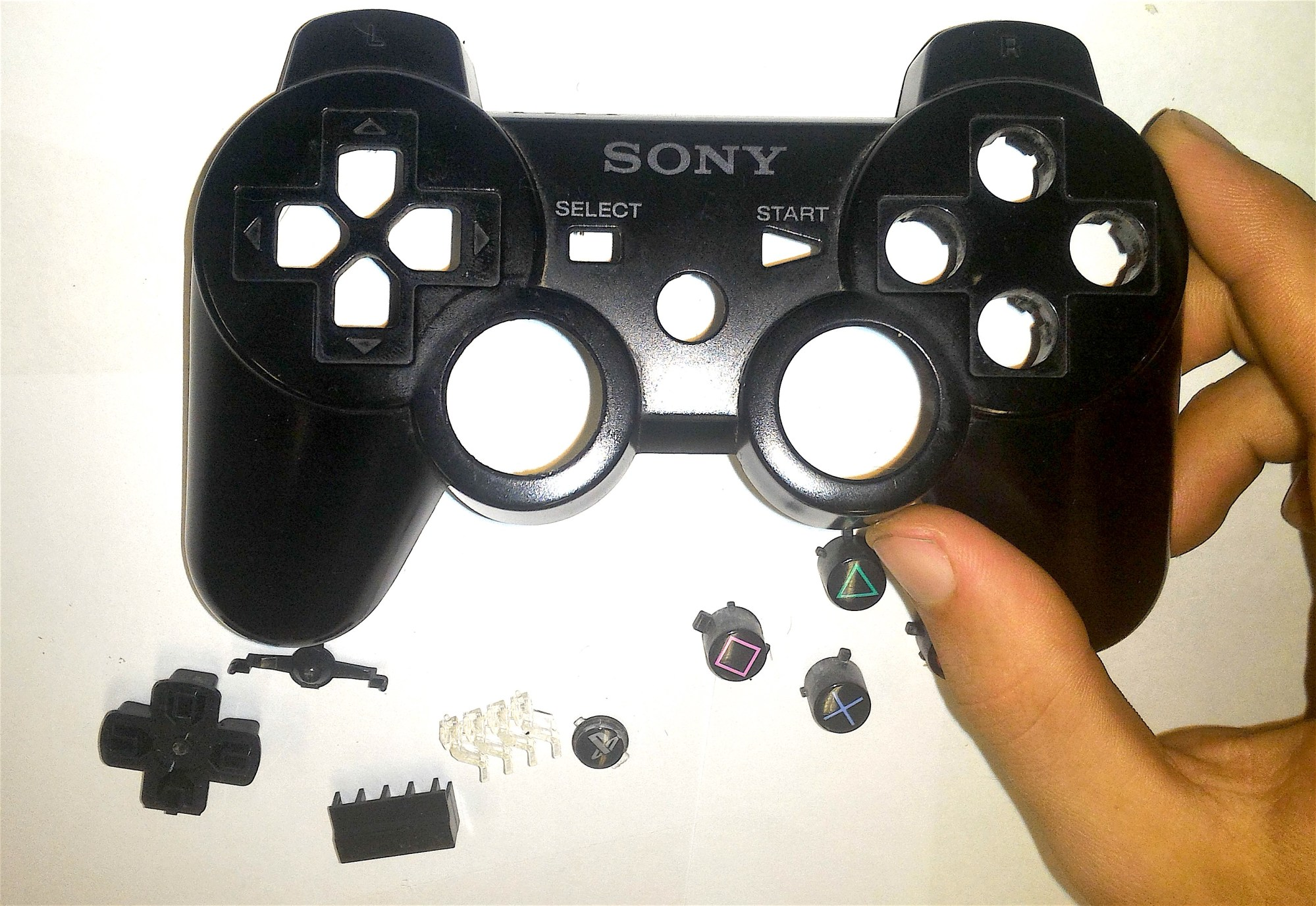 hight resolution of how to disassemble a dual shock 3 controller 8 steps rh wikihow com playstation 3 controller