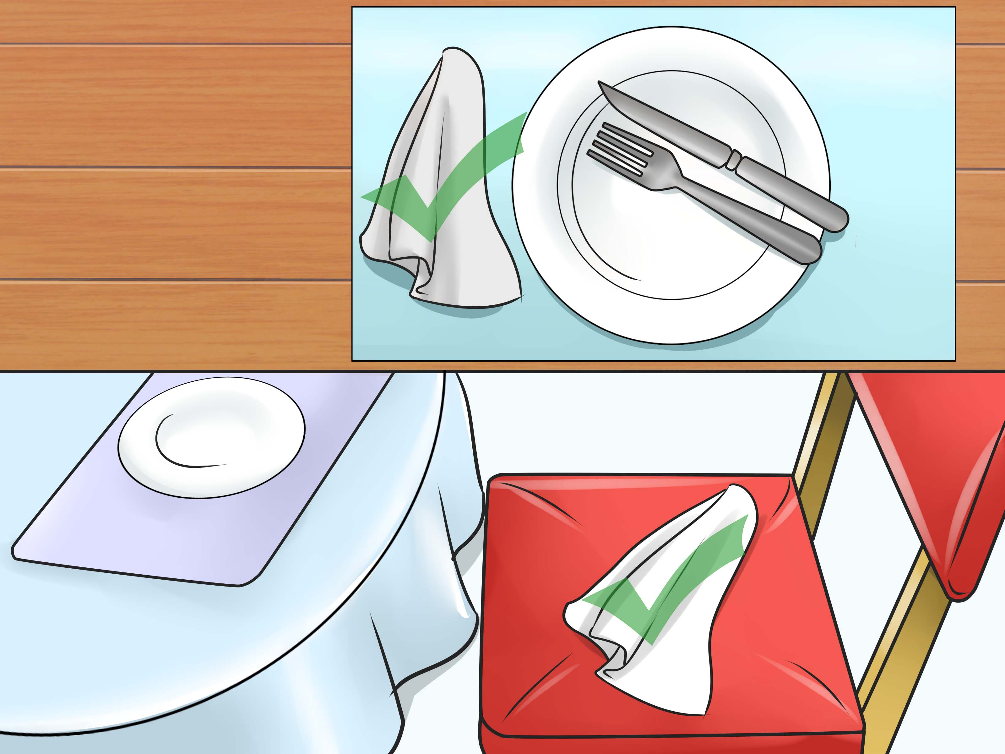 How To Have Good Table Manners 8 Steps With Pictures