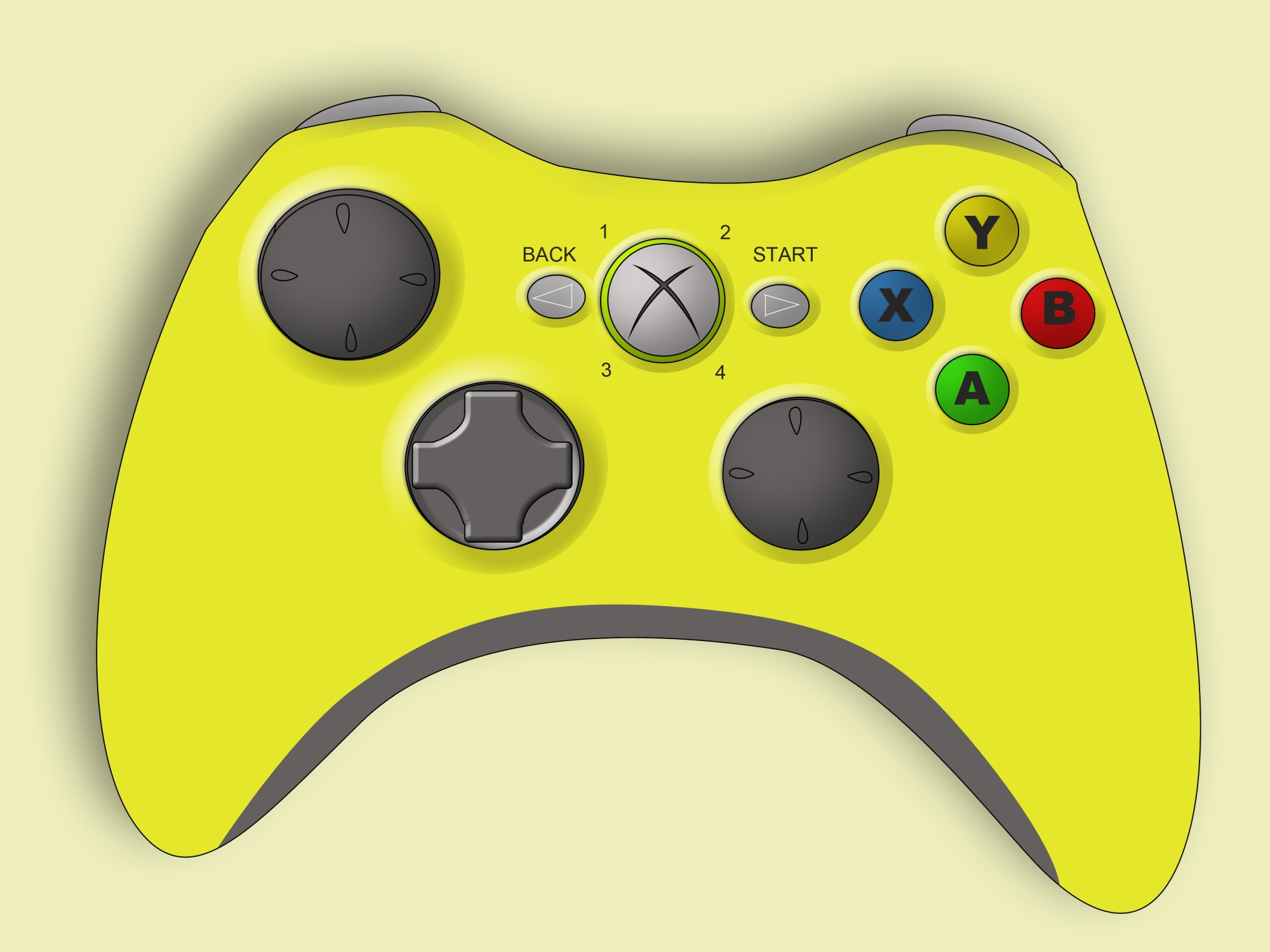 hight resolution of left trigger xbox 360 controller wiring diagram