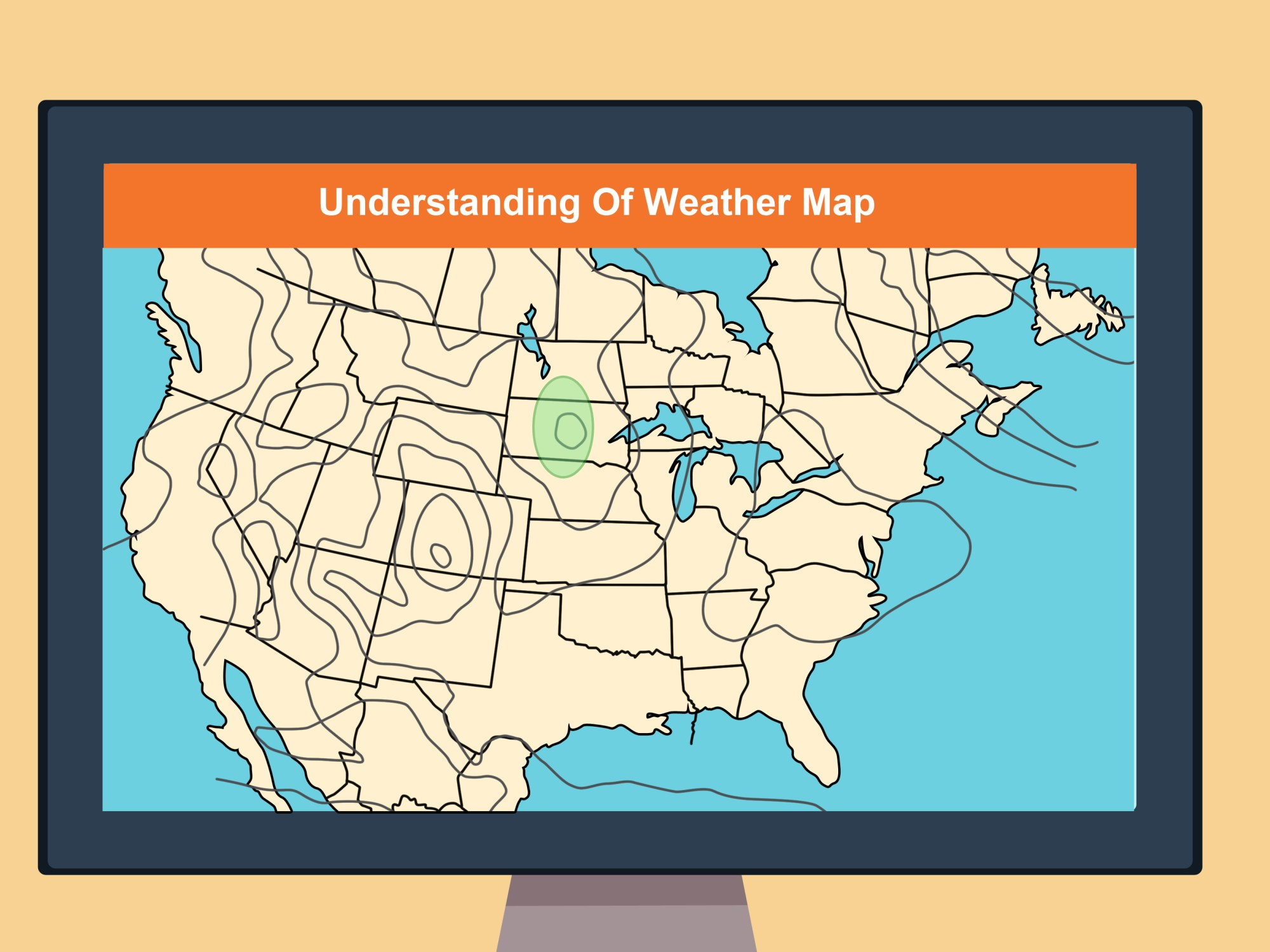 hight resolution of How to Read a Weather Map (with Pictures) - wikiHow