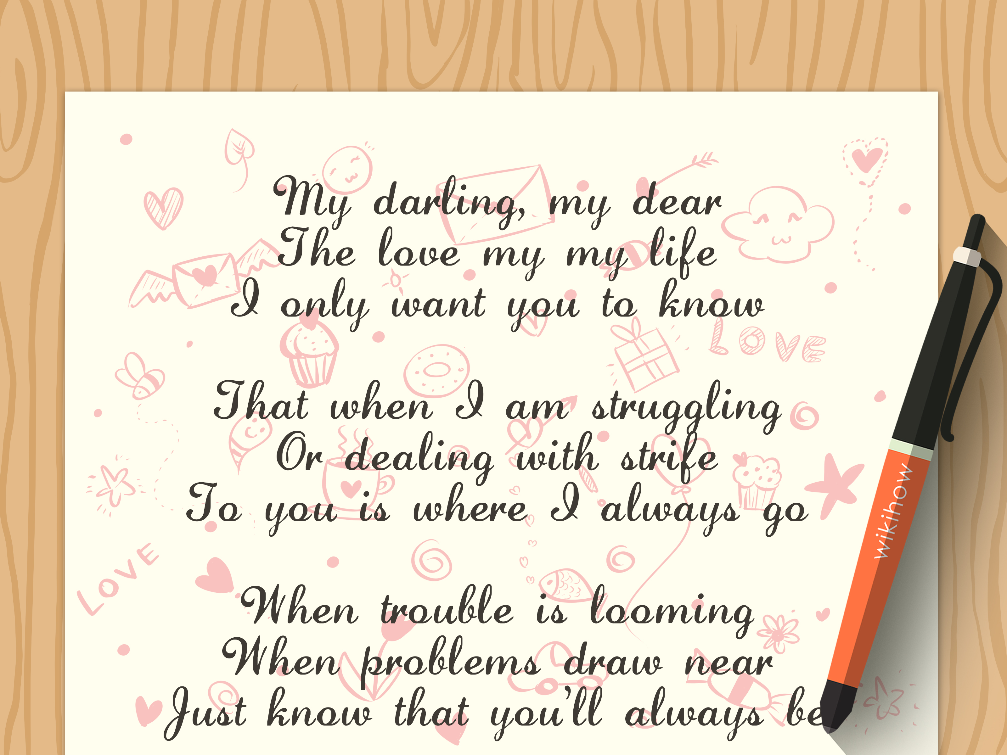 How To Write A Love Poem With Example Poems