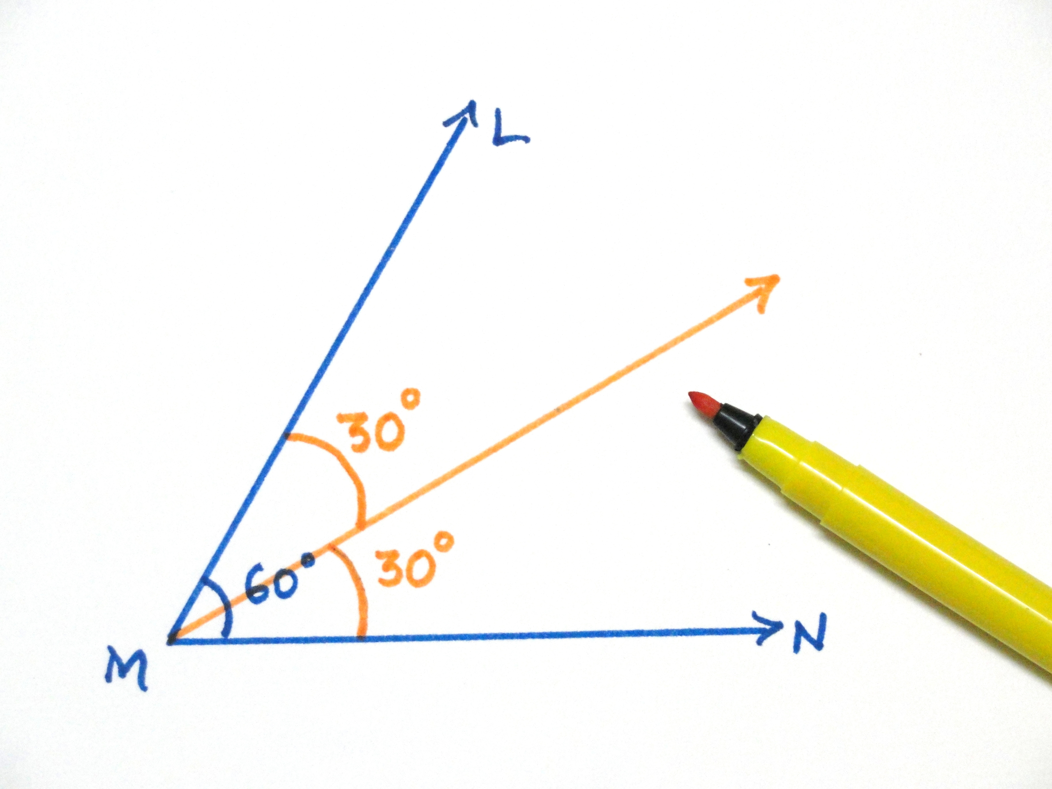 30 Degree Angle Triangle