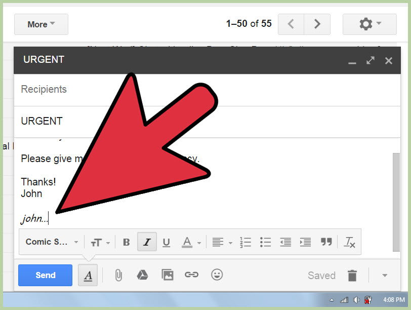 How to Format an Email 5 Steps with Pictures  wikiHow