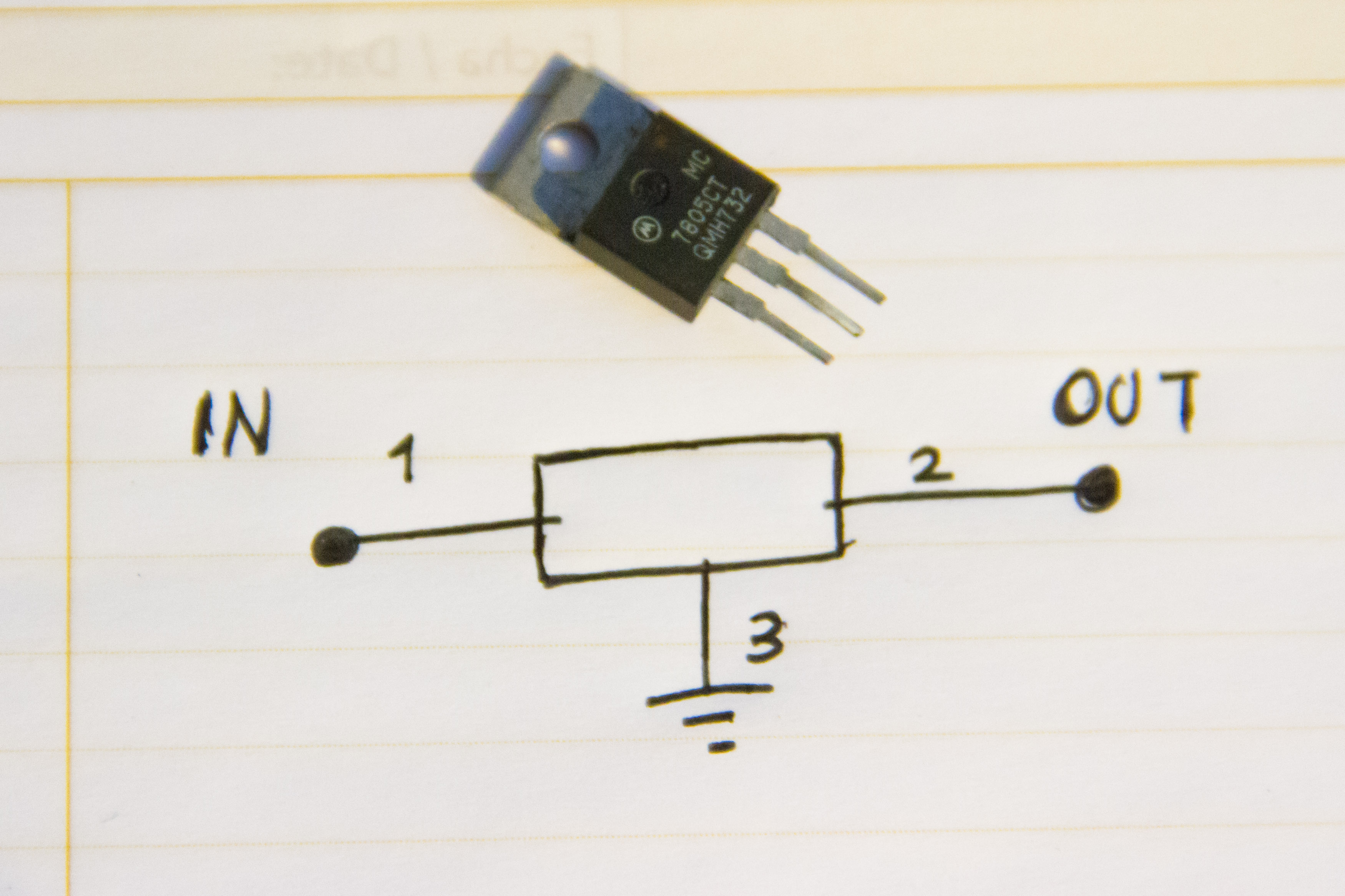 Led Ke Light Wiring Diagram How To Make An Ac Dc Converter 5 Steps With Pictures