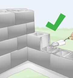 how to build a cinder block wall [ 3200 x 2400 Pixel ]