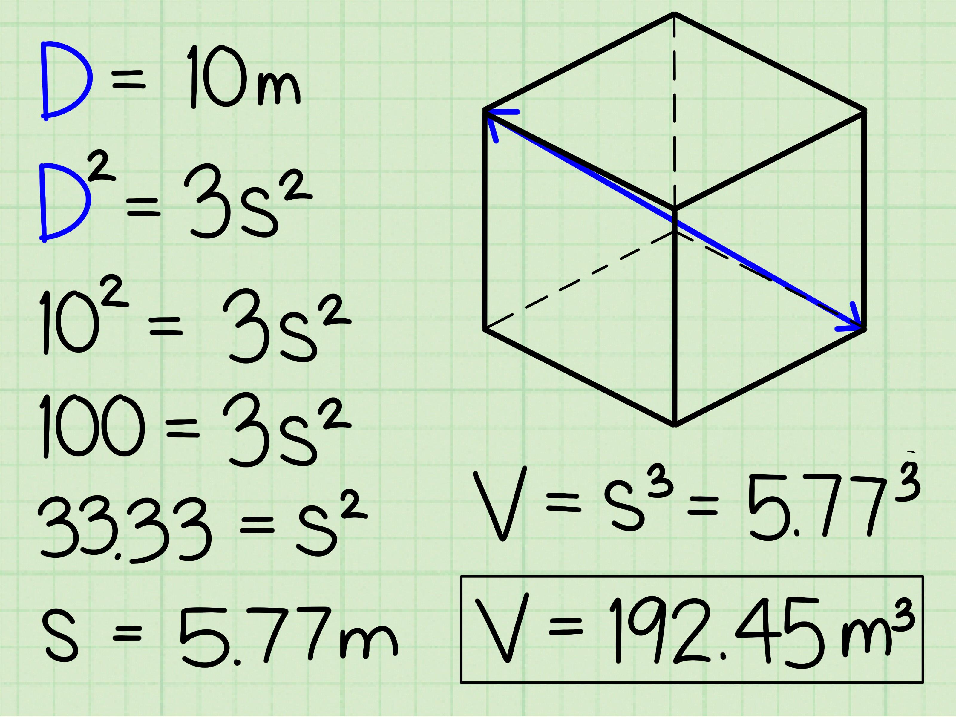 3 Modi Per Calcolare Il Volume Di Un Cubo
