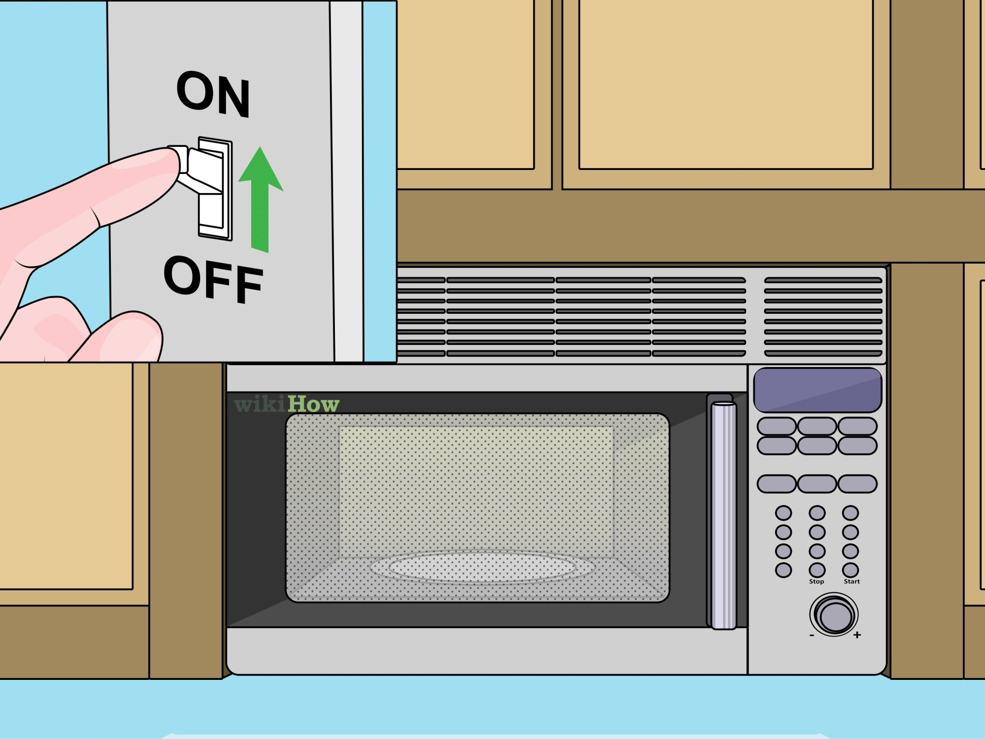 hight resolution of how to install an over the range microwave