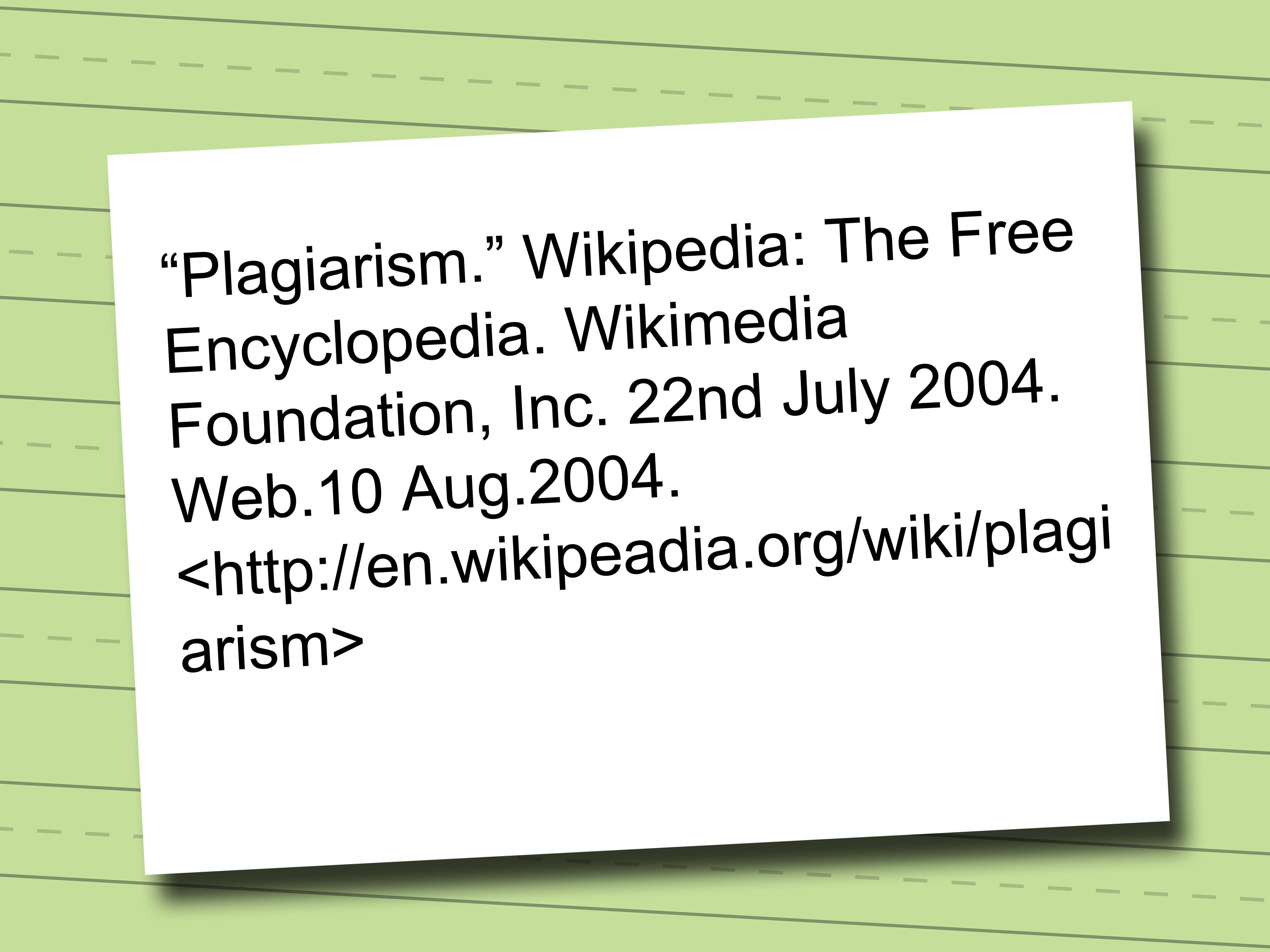 How To Cite A Wikipedia Article In Mla Format With Examples
